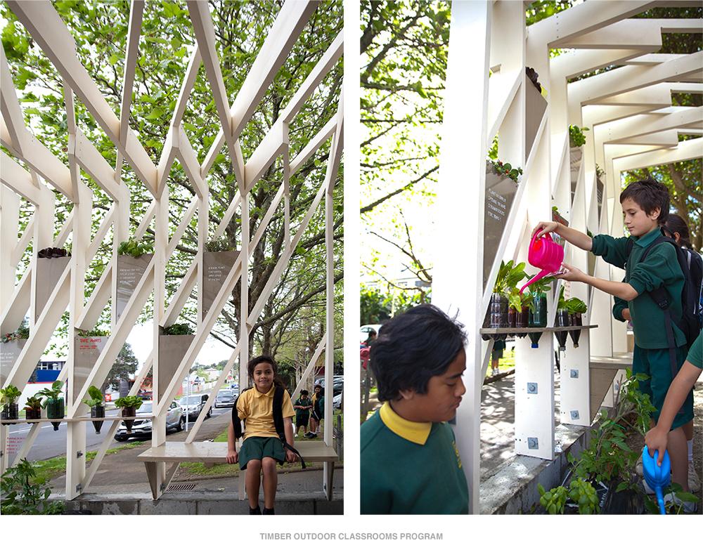 Timber Outdoor Classrooms