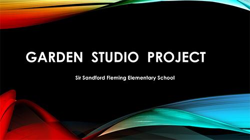 Garden Studio Project