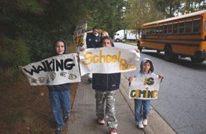 Walking School Bus in Georgia