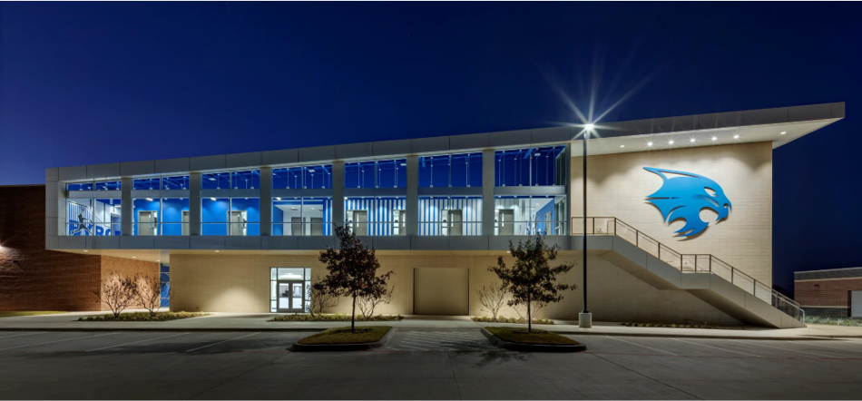 Northwest ISD Byron Nelson School Field House