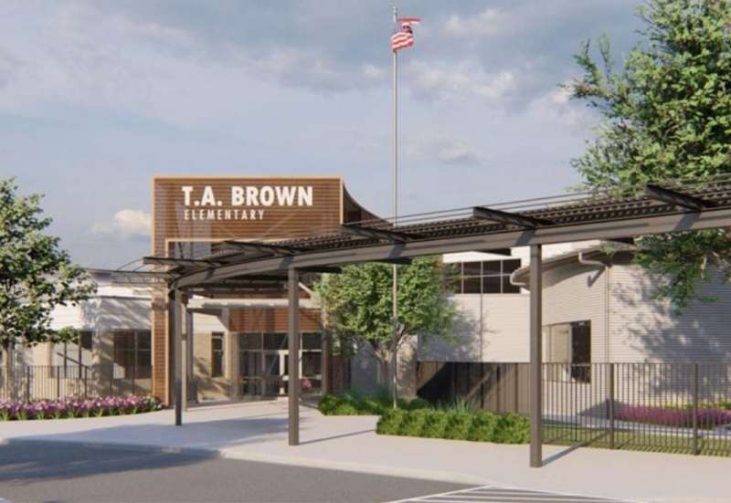 TA Brown