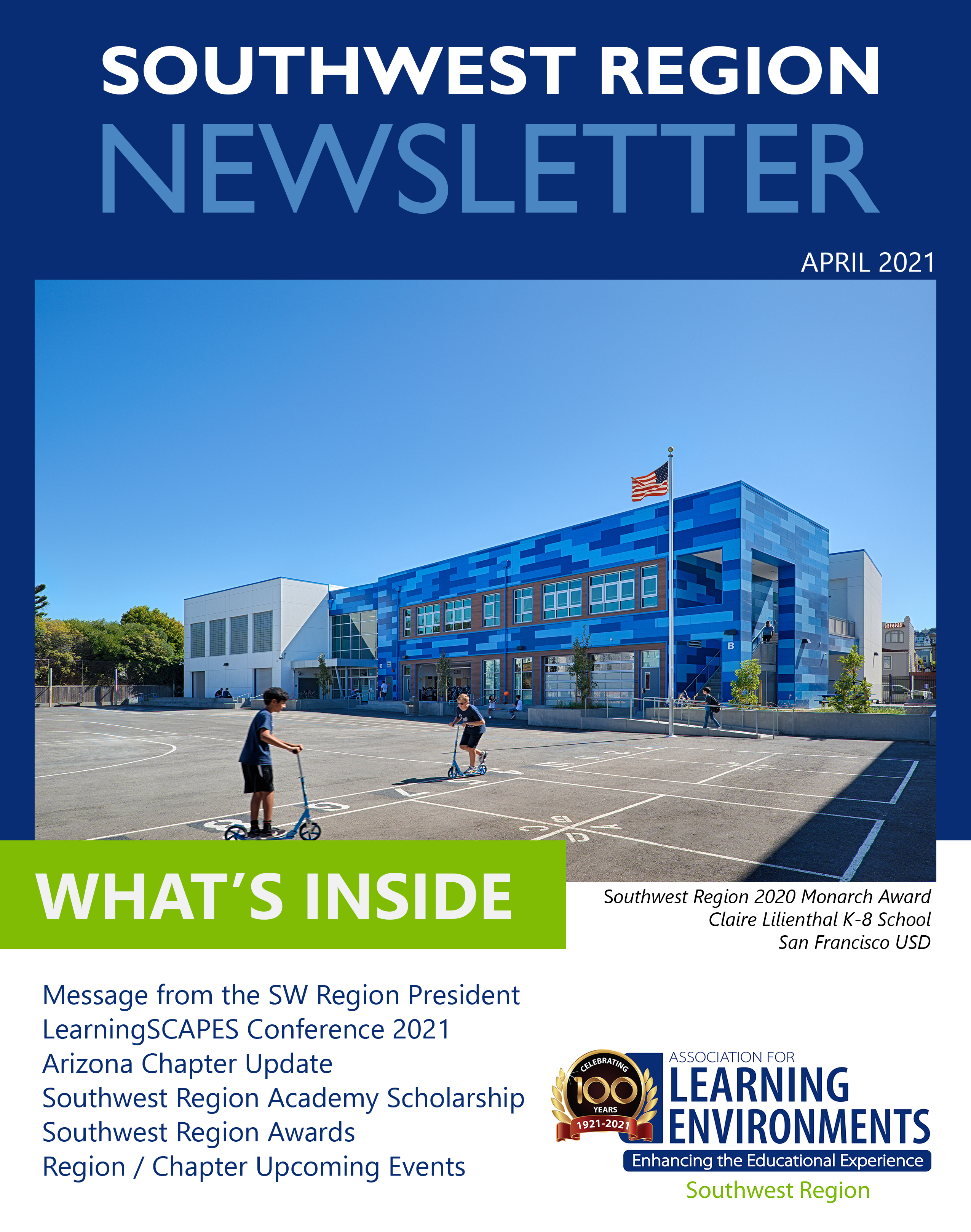 A4LE Southwest Region Newsletter Cover