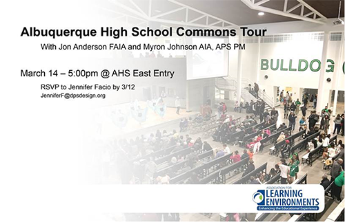 Albuquerque High School Commons Tour